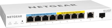 Netgear Pro GS110TUP 240W