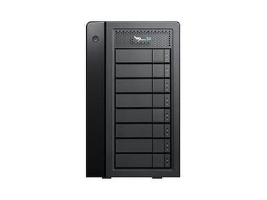 Promise Pegasus32 R8 96TB (8X 12TB) Thunderbolt3/USB3.2 12TB Svart