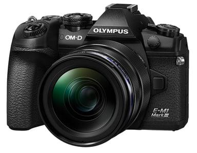 Olympus E-M1 Mark III + 12-40mm f/2.8 Pro