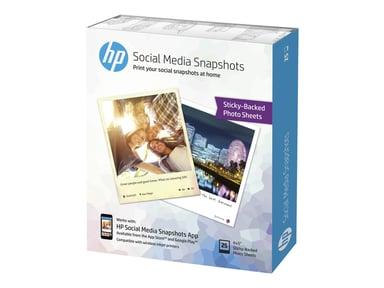 HP Paperi Social Media Snapshots 10x13cm 25 Arkkia
