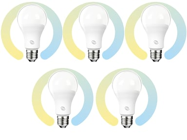 Prokord Smart Home Bulb E27 10W CCT 5-Pack null