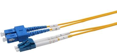 Prokord Fiber Os1 LC-SC 9/125 Duplex SM 15.0m SC/UPC LC/UPC OS1 15m 15m