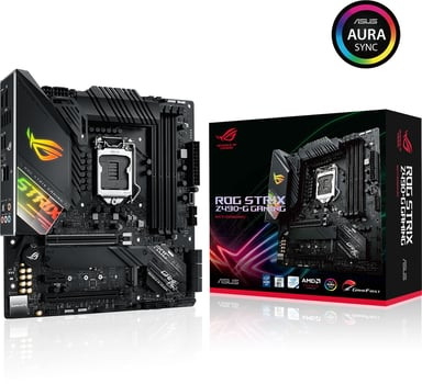 ASUS ROG STRIX Z490-G GAMING Micro ATX Moederbord