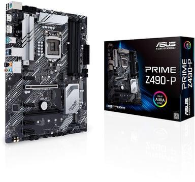ASUS PRIME Z490-P ATX Emolevy