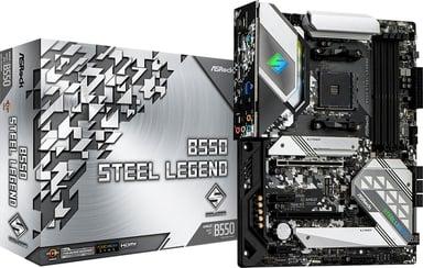 ASRock B550 Steel Legend ATX Moderkort