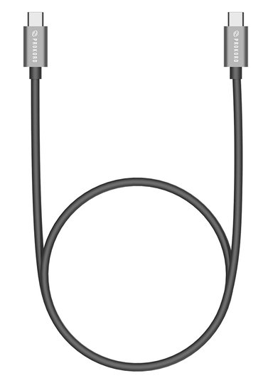 Prokord USB-C kabel USB certified 1m Svart