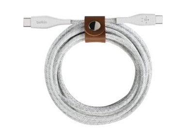 Belkin USB-C Till USB-C Kabel 1.2m Vit