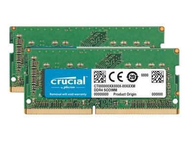 Crucial DDR4 64GB 2,666MHz DDR4 SDRAM SO DIMM 260-PIN