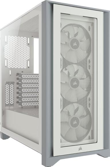 Corsair iCUE 4000X RGB Valkoinen