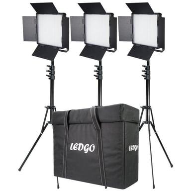 Ledgo LG-600CSCII Belysningskit Med 3 Lampor
