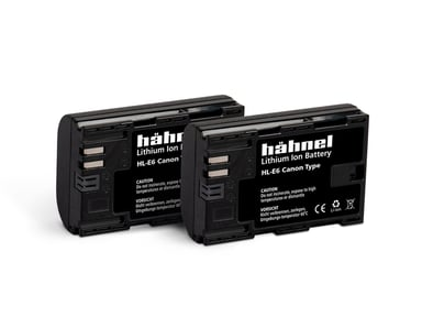 Hähnel Canon HL-E6 Batteri Twin Pack