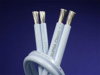 Jenving CLASSIC 4.0 SPEAKER CABLE 5m Uisoleret ledning Uisoleret ledning