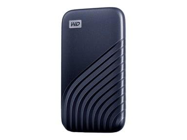 WD My Passport SSD 2TB 2TB Blå