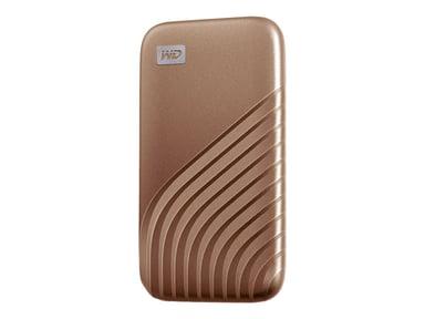 WD My Passport SSD 1TB 1TB Guld