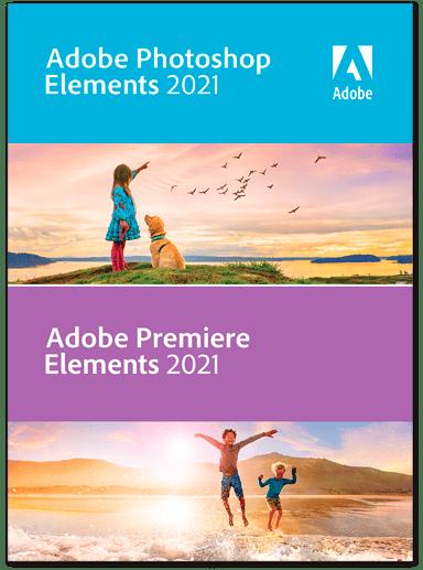 Adobe Photoshop & Premiere Elements 2021 Win Engelsk/Svensk ESD null