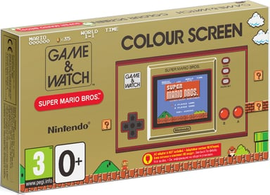 Nintendo Game & Watch Super Mario Bros. Guld Guld
