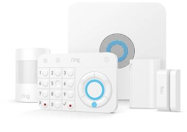 Ring Alarmpakke med bevegelsessensor, sirene og dørsensor