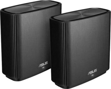 ASUS ZenWiFi AC CT8 / AC3000 WiFi Mesh System 2-Pack - Svart