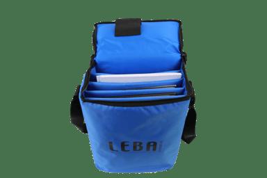 Leba Notebag Blue Large Carries 5 Tablets/Chromebooks #FI