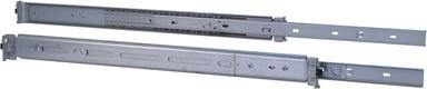 Inter-Tech Utdragbara skenor för rack 2U 455mm (500-800mm) Max 30Kg