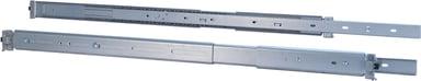 Inter-Tech Stativs teleskopiske skinner 2U 650mm (690-1000mm) Max 30Kg