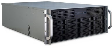 Inter-Tech IPC 4U-4416 Musta