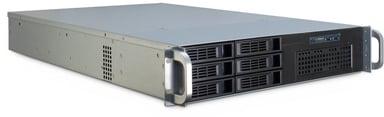 Inter-Tech IPC 2U-2406 Musta