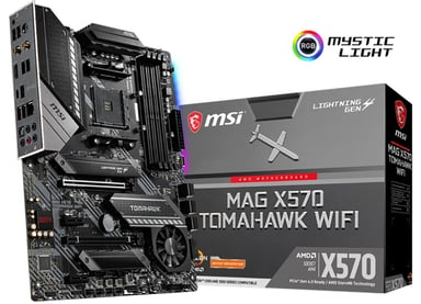 MSI X570 MAG TOMAHAWK WIFI ATX Hovedkort
