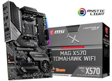 MSI X570 MAG TOMAHAWK WIFI ATX Moderkort