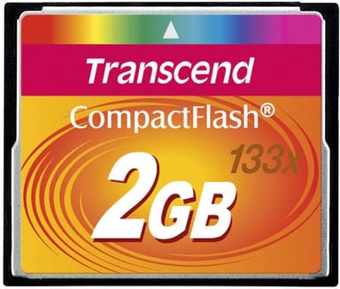 Transcend Flash-minneskort 2GB CompactFlash Card