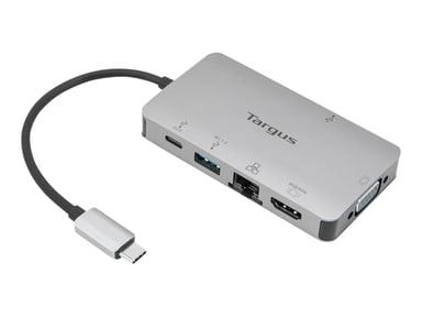 Targus USB-C DP Alt Mode Single Video 4K HDMI/VGA Docking Station with 100W PD Pass-Thru USB-C Mini-dock