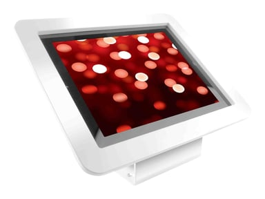 "Compulocks Executive 45° iPad 9.7"" Wall Mount / Counter Top Kiosk White #demo"