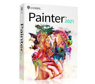 Corel Painter 2021 Win/Mac Eng Box