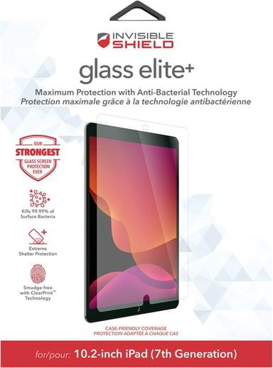 Zagg InvisibleShield Glass Elite+ iPad 2019 iPad 8th gen (2020) iPad 9th Gen (2021)