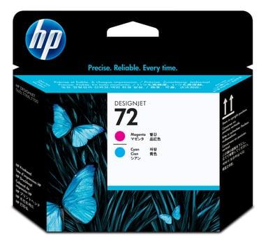 HP Skriverhode No.72 Magenta & Cyan - T1100 null