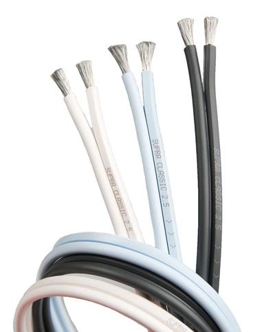 Jenving CLASSIC 2.5 SPEAKER CABLE 20m Uisoleret ledning Uisoleret ledning