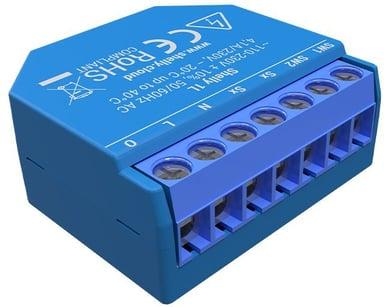 Shelly 1L WiFi enkanalig fjärrströmbrytare för inbyggnad