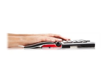 Contour Design Contour Balance Keyboard WL and RollerMouse Red plus WL #demo