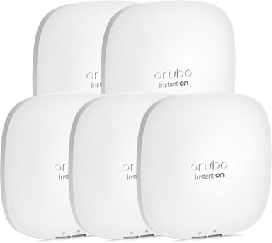 Aruba Instant On AP22 WiFi 6 5-Pack