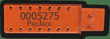 Direktronik Padjack USB Cable Lock 5-Pack