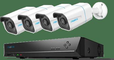 Reolink RLK8-810B4-A Smart 4K Kamerakit med inspelare 2TB