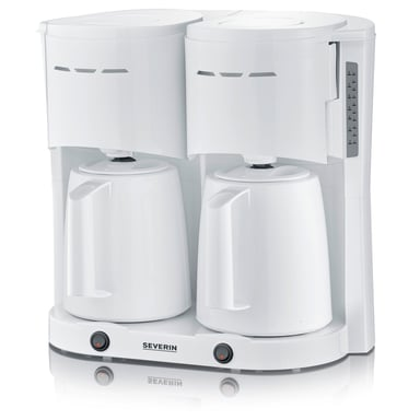 Severin Double Thermos Brewer White null