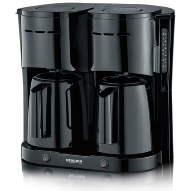 Severin Double Thermos Brewer Black