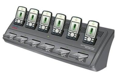 Cisco Multi-Charger puhelimen latauksen jalusta + akkulaturi + tehon sovitin