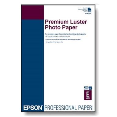 Epson Papper Photo Premium Luster A2 25 Ark 250g