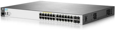 Aruba 2530 24-Port Gigabit Web Managed PoE Switch (195W) null