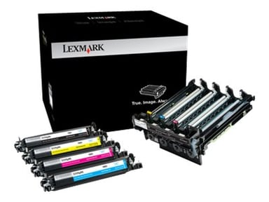 Lexmark Trumma Svart & Färg 4K