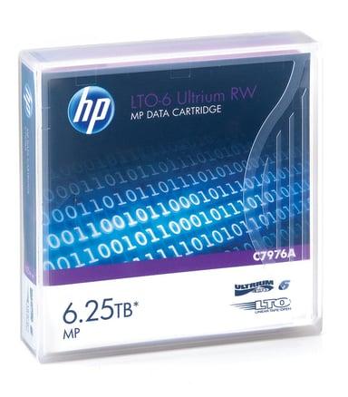 HPE Ultrium RW Data Cartridge LTO Ultrium 6.25TB 1st
