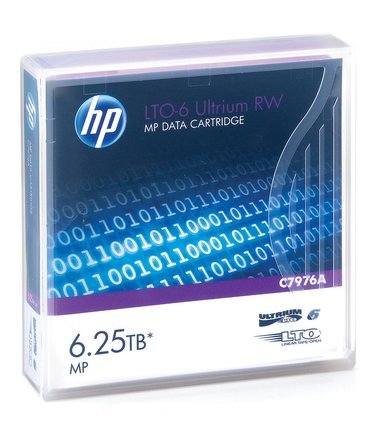 HPE Ultrium RW Data Cartridge LTO Ultrium 6.25Tt 1kpl