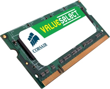 Corsair Value Select 0.5GB 0.5GB 333MHz DDR SDRAM SO DIMM 200-pin